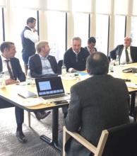 En USA, Colombi se reúne con equipos financieros del BID