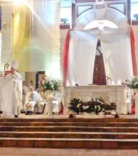 Montini, el nuevo obispo de Santo Tomé prometió combatir los flagelos sociales