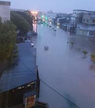 En el barrio Güemes piden que se corte el suministro de electricidad por riesgos de vida