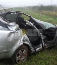Hinchas de a Atlético Tucumán murieron en accidente en el Chaco