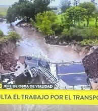 Vialidad asegura que en seis días estará instalado el puente Bailey en Itatí