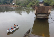 Apuran construcción del desvío en la zona del arroyo Guazú