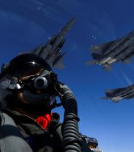 Estados Unidos desplegó sus mejores aviones para intimidar a Corea del Norte