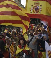España: tensión durante fiesta nacional bajo la sombra de la crisis con Cataluña