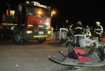 Terrible choque en Ruta 16 deja una familia destrozada