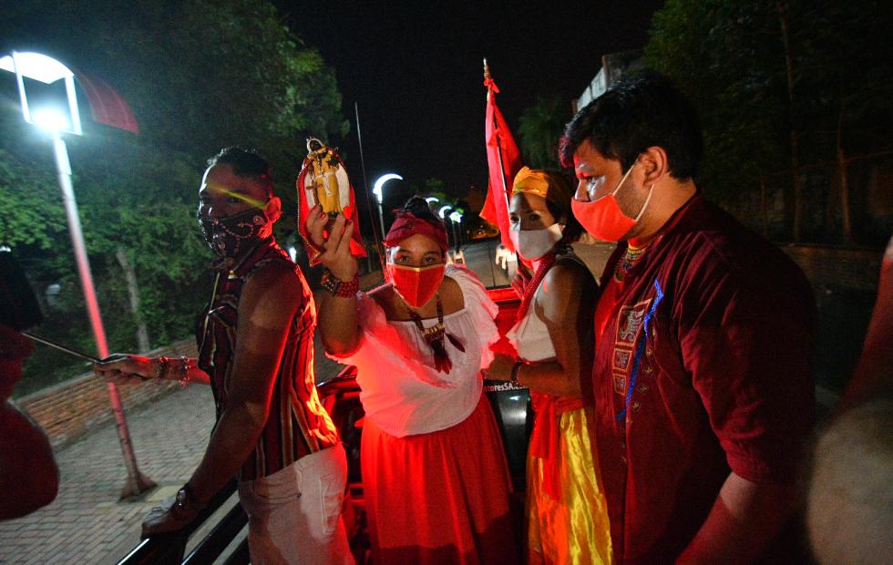 Corrientes mantuvo viva la fiesta de San Baltasar con un festival virtual y una caravana