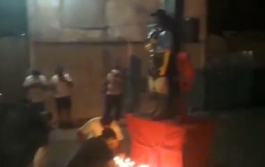 Así recibían el 8 de enero en el santuario del Gaucho Gil