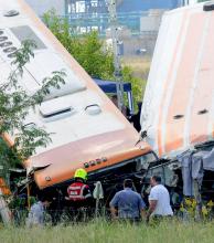 Choque frontal de dos colectivos en Santa Fe dejó doce muertos