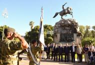 Yapeyú honró a San Martín y aguarda la inauguración de obras del templete