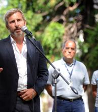 Frigerio aseguró que enviaron fondos a Santa Cruz y criticó los dichos de Alicia Kirchner