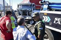 Piratas del asfalto hirieron a una policía en enfrentamiento a tiros