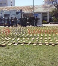 Más de una tonelada de droga fue hallada por Gendarmería Nacional