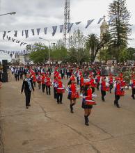 La ciudad de Paso de los Libres festejó 174 años de historia con un gran desfile