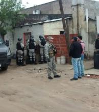 Allanamientos en La Vizcacha y en el Patono por la muerte de Abril