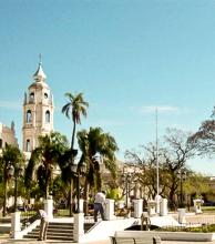 Protección para la parte más antigua de la ciudad de Goya