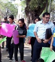 Manifestación por joven asesinado por policías