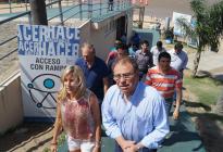 Habilitación parcial de Arazaty reunió a las actuales y nuevas autoridades