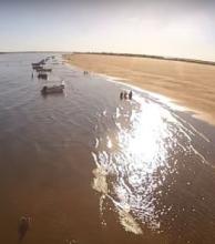 Tres chaqueños mueren en el banco de arena frente a Isla del cerrito y Paso de la Patria