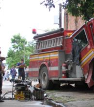 Muerte de la mujer bombero: detuvieron al chofer de la autobomba