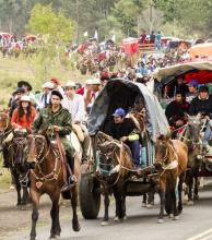 Diez mil jinetes se preparan para peregrinar a la Basílica de Itatí