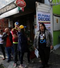 La oposición votó contra la Constituyente de Maduro