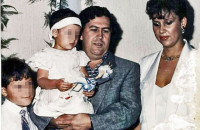 Investigan a viuda y al hijo de Pablo Escobar por lavado