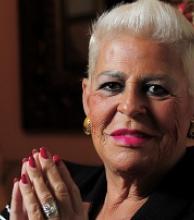 María Marta Serra Lima, hija de un correntino, murió esta mañana