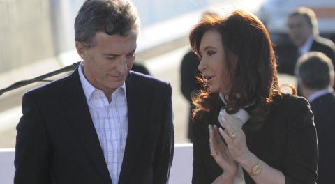 Macri negó acercamiento a CFK y puso condiciones al Gobierno