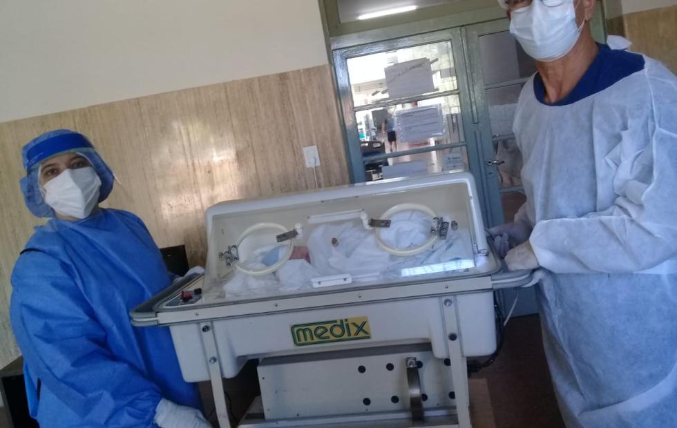 Se produjo el 43º nacimiento en el Hospital de Campaña de Corrientes