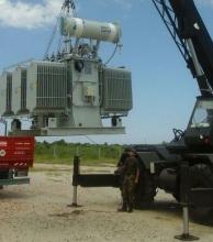 Aprontan puesta en marcha de equipos de la 2ª estación transformadora de Goya