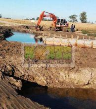 Se demoran las obras en arroyo Ibiru Cuá