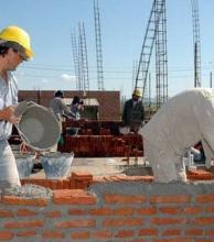 Descenso en el índice de empleo de la construcción