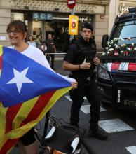 Madrid despliega su fuerza a una semana del referéndum catalán