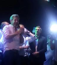 Frigerio arriba a Ituzaingó para cerrar campaña de ECo-Cambiemos