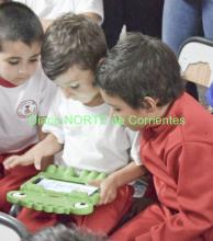 Entregan tablets en los jardines, como una importante herramienta educativa