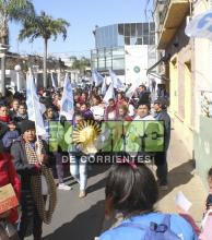 Manifestaciones de organizaciones por la ley de emergencia alimentaria