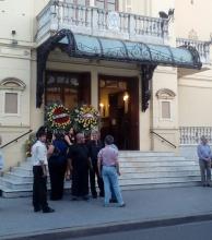 Velan en el Teatro Vera los restos de Pocho Roch