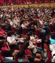 Salas llenas para disfrutar de obras de teatro nacionales e internacionales