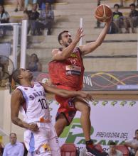 San Martín entrena de cara al Final Four del Super 20