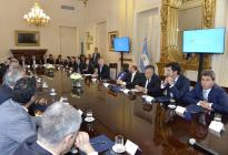 El proyecto de consenso fiscal ingresó al Senado